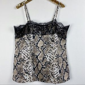 Torrid • Snake Print Lace Cami